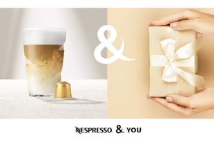 Számos új előnnyel jutalmazza a hűséges kávérajongókat a Nespresso & You