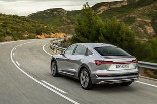 Az Audi tovább tökéletesíti az e-tron modellcsaládot.