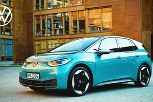 A Volkswagen ID.3 bekerült az Év Autója 2021 díjra jelöltek közé