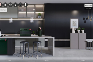 Dizájner háztartási készülékeket mutat be az LG a 2021-es CES-en