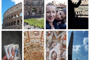 Római vakáció!