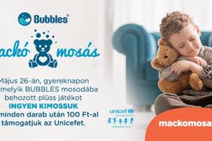 MACKÓ MOSÁS A BUBBLES MOSODÁBAN!