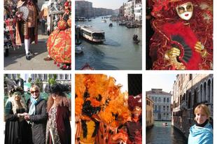 Ha karnevál, akkor Velence! Saluti da Venezia...