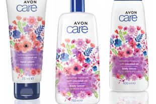 Avon Care Regeneráló és hidratáló termékcsalád kókuszolajjal
