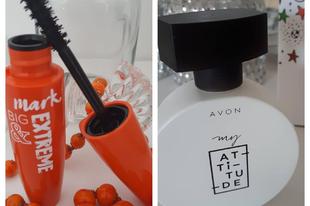 Az AVON őszi újdonságaiból, két nélkülözhetetlen termék.
