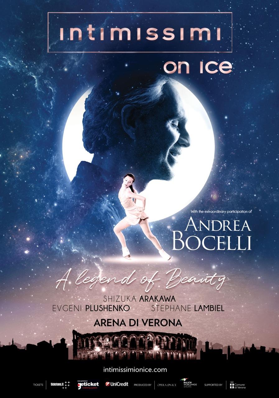 Tisztelgés a nők, a tehetség és a szépség előtt, a nőiesség a múzsája az év legfontosabb jégshow-jának, amely 2017-ben negyedik kiadásához érkezett. <br />A show. Az A Legend of Beauty, amely Veronát nemzetközi színpaddá változtatja az olimpiai érmes és bajnok jégkorcsolyázóknak, a nemzetközi hírű énekeseknek és zenészeknek, az exkluzív vendégeknek és egy kivételes kreatív csapatnak köszönhetően, két estére ragyogással tölti fel a legendás Arenát. Két kihagyhatatlan előadás, amely október 6-án és 7-én kerül megrendezésre. <br />