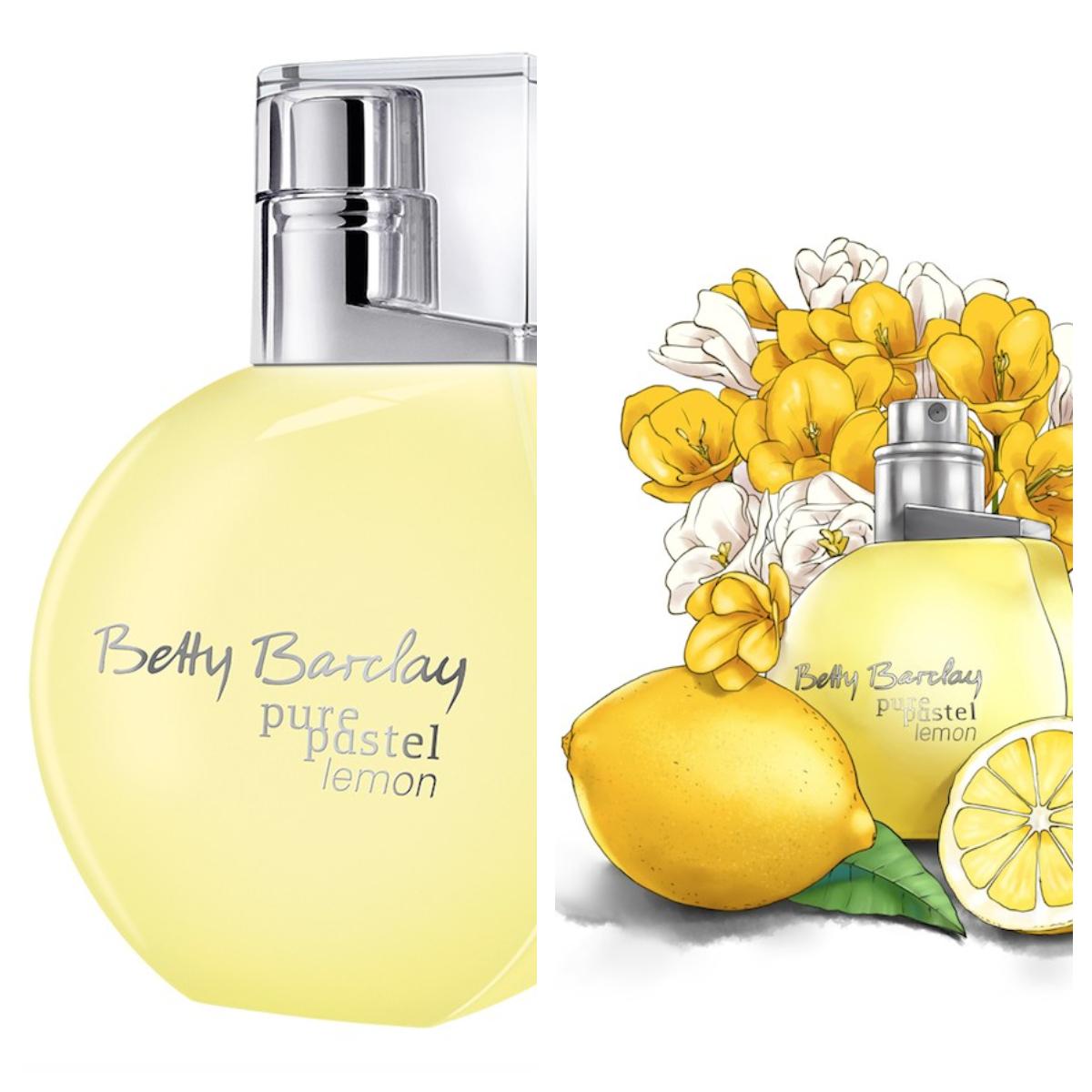Betty Barclay pure pastel lemon<br />stílus: magabiztos, lezser<br />illatvilág: friss, sportos, citrusos<br />szín: frissítő pasztell sárga - felébreszti az életkedvet!<br />