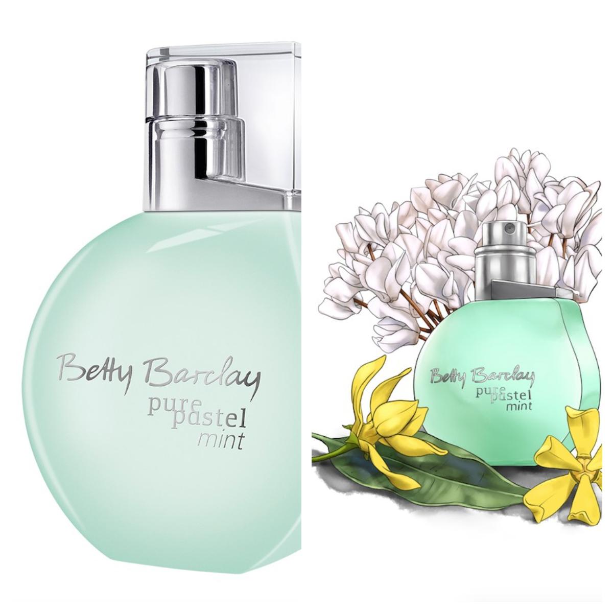 Betty Barclay pure pastel mint<br />stílus: vidám, gyengéd, megbízható<br />illatvilág: friss, virágos, púderes<br />szín: álomszép mentazöld,<br />diszkrét és finom<br />