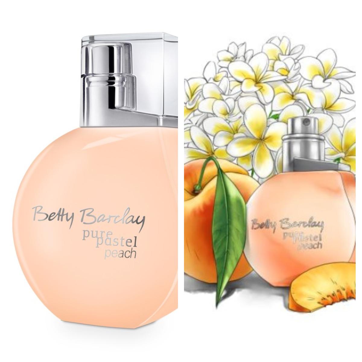 Betty Barclay pure pastel peach<br />stílus: derűs, kacér<br />illatvilág: a bársonyos barack gyümölcsös aromái<br />szín: leheletfinom, mégis élénk és energikus - a jó hangulatért!<br />