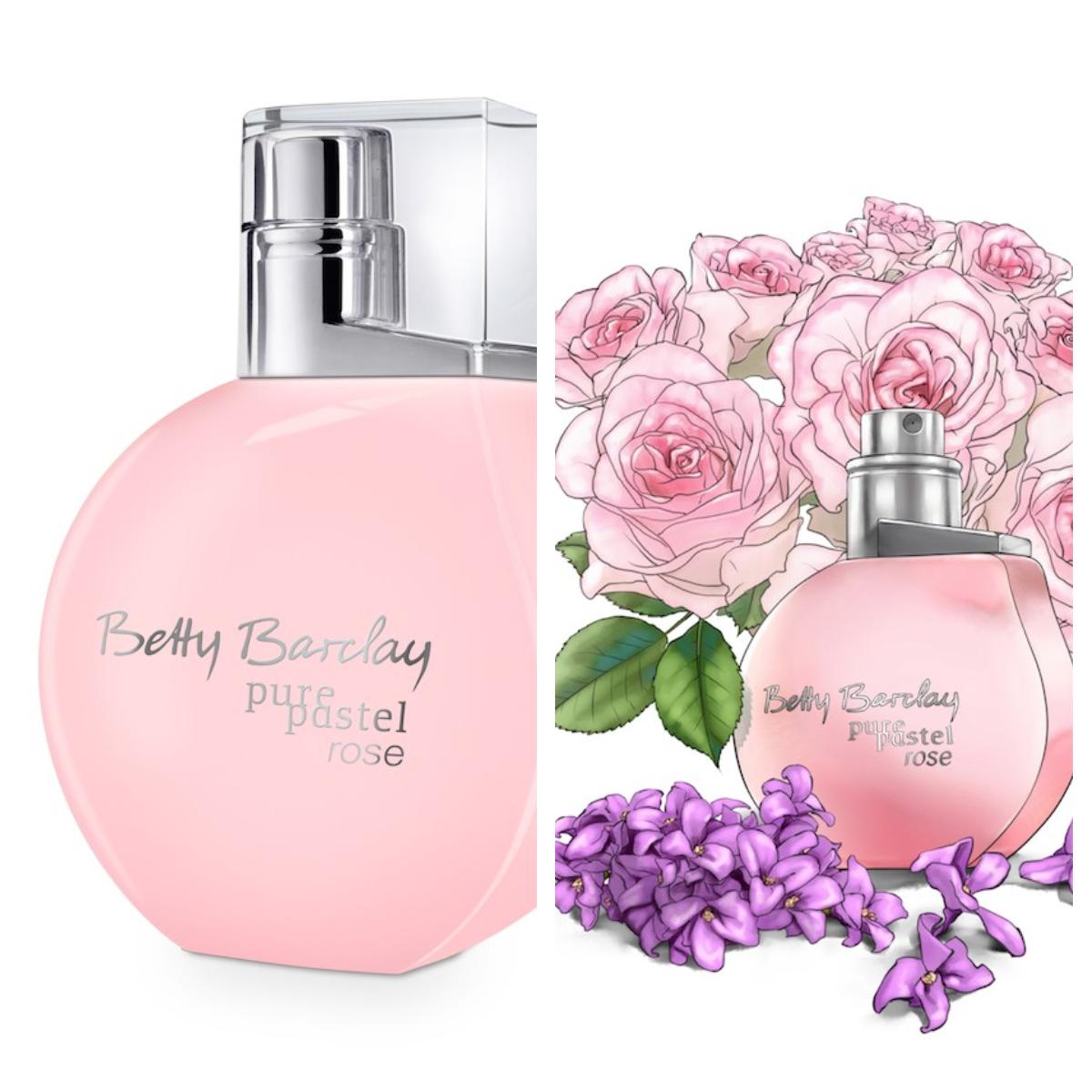 Betty Barclay pure pastel rose<br />stílus: bájos, játékos, fiatalos<br />illatvilág: rózsaszirom, frissen romantikus<br />szín: finom tónusok, lágy, rózsaszín árnyalatok