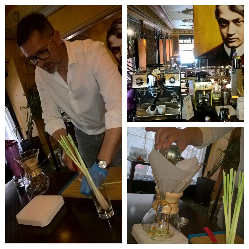 A BWT és Tóth Sándor (A Kávé Háza) a kávék nagy mestere jóvoltából nem csak egy frissítő reggeli kávézáson vehettünk részt, de megismerhettük a legújabb kávétrendeket, mely 3 izgalmas, fűszeres és gyümölcsös kávéital elkészítését foglalta magába.... <br /><br />Azért a végén kértem egy igazi, hamisítatlan cappuccinot! :) <br />Mely a Panama Geisha Gran del Val - kávéból készült..... ez megkoronázta a napom!<br />De: a kávé krémje, a tiszta víz, mely a BWT vízszűrő rendszerének köszönhetően, igazán lággyá, frissé, aromásabbá és nagyon finommá varázsolja a kávét is!<br /><br /><br />