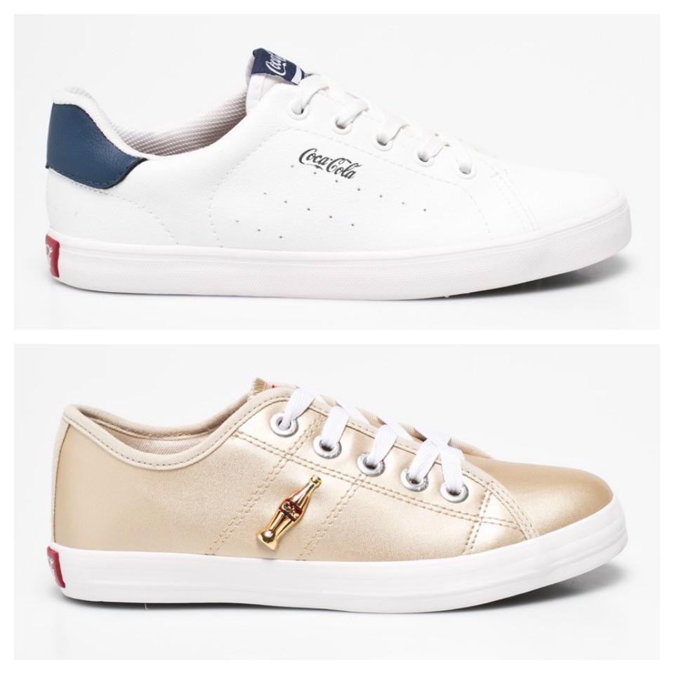 Már nemcsak kortyolhatod a jéghideg kólát, de viselheted is. <br /><br />A Coca-Cola Shoes egyedülálló termékvonalában a márka által képviselt pozitív vibrálás és optimizmus terjed tovább.<br /><br />Ezek a cipők azoknak szólnak, akik stílusukban is kifejezik boldogságukat és megosztják azt mindenki mással. <br /><br />A casual fashion legújabb, meghatározó trendjei szerint tervezett cipők: sneakerek, magasszárú cipők, szandálok. <br />
