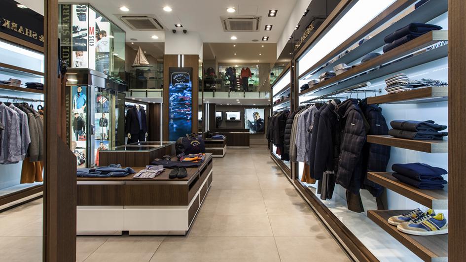 NEMZETKÖZI BRAND <br />Jelenleg 73 különböző országban, 458 városban és 474 értékesítési helyen állnak rendelkezésre ruházati termékeink és kiegészítőink, amelyek közül több mint 280 Paul & Shark monobrand butik található a legexkluzívabb bevásárlóközpontokban, Milánótól - Via Montenapoleone, Párizs - Rue du Faubourg St. Honoré, New York - Madison Avenue, Beverly Hills - Rodeo Drive, Hongkong - Canton Road, Shanghai - Nanjing Road, Dubai - Dubai Mall és Mall of the Emirates, Moszkva - Gum. <br />