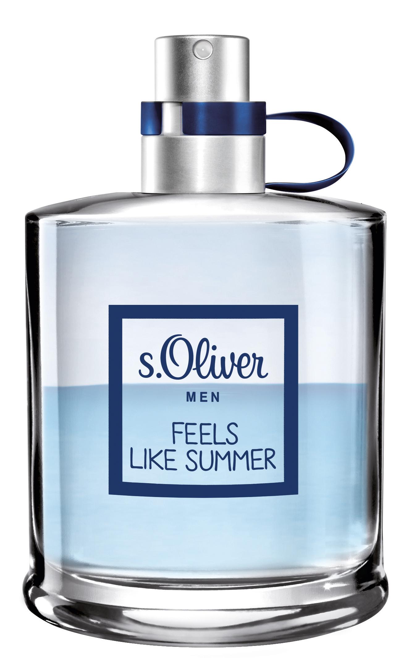 A kalandornak<br />s.Oliver FEELS LIKE SUMMER <br /><br />Friss, mint a tengeri szellő - az s.Oliver FEELS LIKE SUMMER férfi illata egy a vízen töltött aktív nap emlékét idézi. Dinamikus és erőteljes, mint egy átbukó tarajú hullám. A nyári hőmérsékletekhez illően viselőjét a limitált széria vonzó és férfiasan markáns illata kíséri.<br /><br />Még nem keső az Anyák Napját bepótolni a FEELS LIKE SUMMER női változatával. Ìgy az igazi az összhang!<br /><br />A termékek megvásárolhatóak a DM, ROSSMAN ÉS A MÜLLER DROGÉRIÁKBAN :)