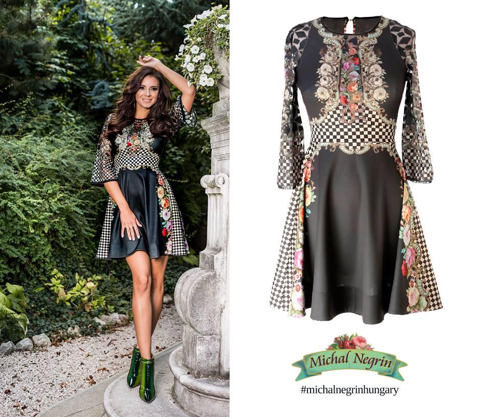Egyedi és különleges: az új kollekció egyik kedvenc darabja ez a miniruha. Sarka Kata Michal Negrin Hungary