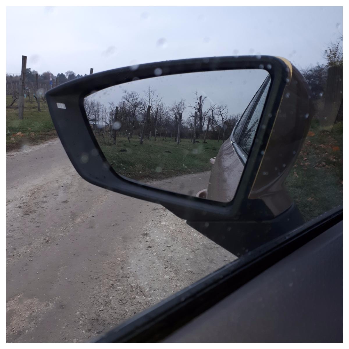"""Egy picike negatívumot azért írnék: a visszapillantó tükrök számomra """"kicsinek"""" tűntek, de lehet azért, mert a saját autómon nagyobb tükrök vannak, és azt szoktam meg. <br />Igazából a lényeg látható volt, sok gondot nem okozott."""
