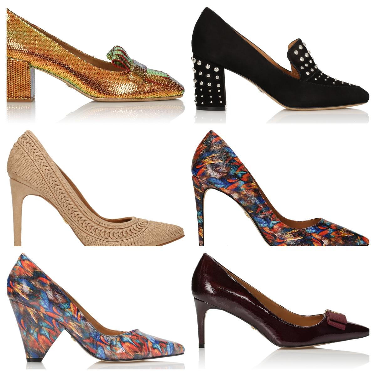 42de92390a52 Intenzív színek és merész minták, állatmotívumok, tüskék és láncok a  táskákon, érdekes kialakítású és magassarkú cipők - csak hogy néhányat  említsünk azok ...