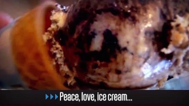 Peace, love, ice cream