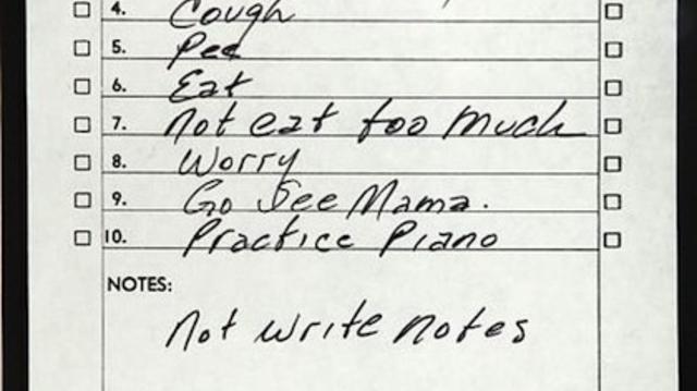Johnny Cash jegyzete