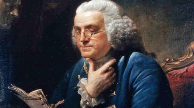 Benjamin Franklin receptje
