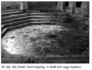 Forró helyiség, nagy medence (Papp - Lászay, 2009)
