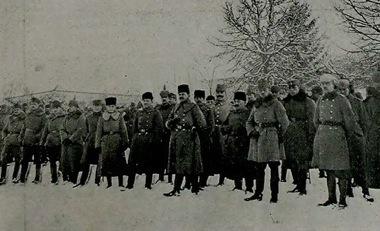 Török, német, és osztrák tisztek (Harp Mecmuası, turkeyswar.com)