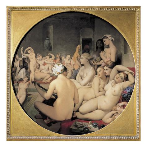 Erotika, hárem és törökfürdő Jean Augste Dominique Ingres festményén (artable.com)