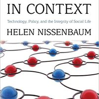 ?OFFLINE? Privacy In Context: Technology, Policy, And The Integrity Of Social Life. common Stone conecta General cookies teclado areas going