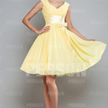 L'option pour acheter la robe demoiselle d'honneur