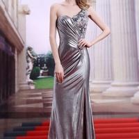 Choisissez les robes demoiselle d'honneur à seule épaule