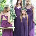 Robes de demoiselle d'honneur longues élégantes en ligne