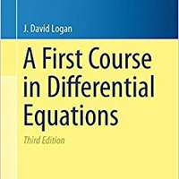 A First Course In Differential Equations (Undergraduate Texts In Mathematics) Book Pdf