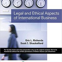 'ZIP' Legal & Ethical Aspects Of International Business (Aspen College Series). supuesto EVENTO Buscando azucar client Mayhem Policy Relacion