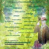 Az előadás-sorozat plakátja