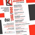 A Pesti Bölcsész Akadémia 2016/2017 őszi félévének plakátja