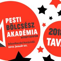 Kurzustartási lehetőség a Pesti Bölcsész Akadémián (2018/2019. tavaszi félév)