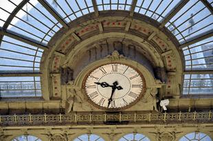 A Keleti pontos idő