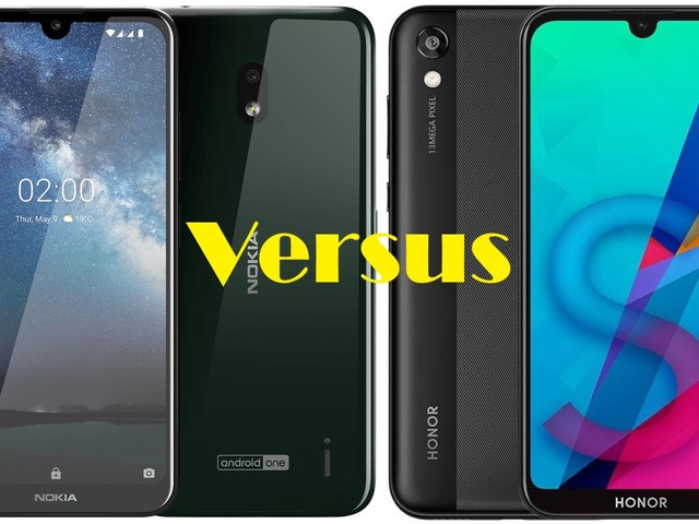 Nokia 2.2 VS Honor 8S