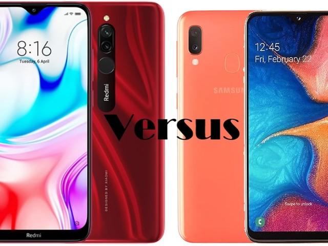Redmi 8(32GB) VS Galaxy A20e