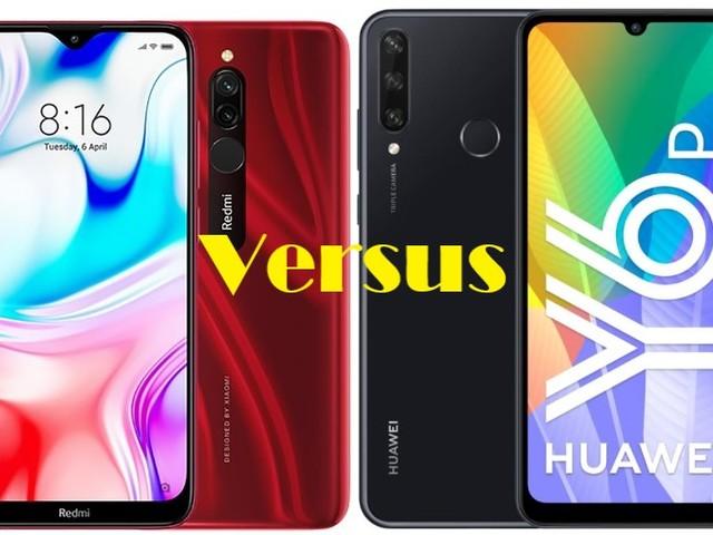 Redmi 8(64GB) VS Huawei Y6p