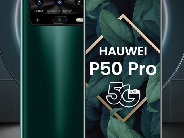 Megjelent a Huawei P50 Pro...bocsánat, Hauwei!