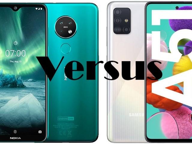 Nokia 7.2 VS Samsung Galaxy A51