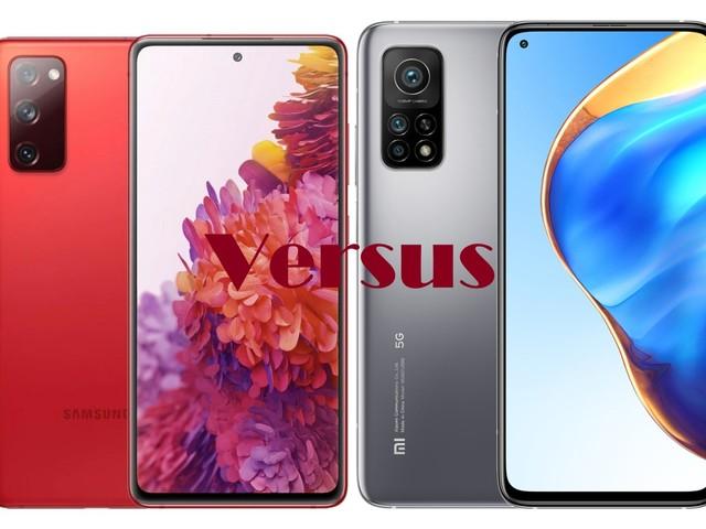 Galaxy S20 FE vs Mi 10T Pro 5G