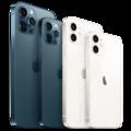 Fent és lent: Az iPhone 12 széria a korábbi típusokhoz hasonlítva