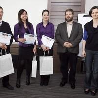 Beszámoló az Országos Piackutatási Diákverseny döntőjéről (2012. április 6., Ringier Székház)
