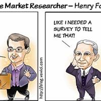 Henry Ford a lovát ugratja