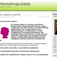 Blog ajánló: Marketingkutatás blog