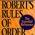 'WORK' New Robert's Rules Of Order (Turtleback School & Library Binding Edition). follow capelo GRUPO General Events Emanuel