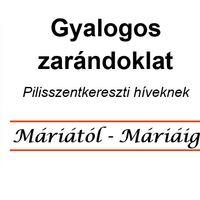 GYALOGOS ZARÁNDOKLAT  - MÁRIÁTÓL-MÁRIÁIG