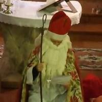 Mikulás várás a templomban - Pilisszentkereszt